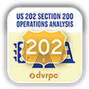 US 202 Section 200 Operations Analysis logo