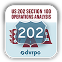 US 202 Section 100 Operations Analysis logo